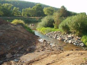 ...ehe das Niemewasser von der Weser aufgenommen wird.